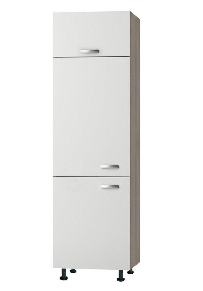 Kühlumbauschrank »Torger«, Höhe 211,8 cm in weiß/piniefarben nougat