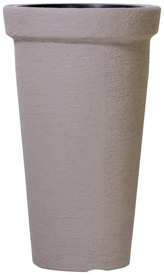 Blumentopf »Classic Tower 400«, mocca, Ø/H: 48/79 cm