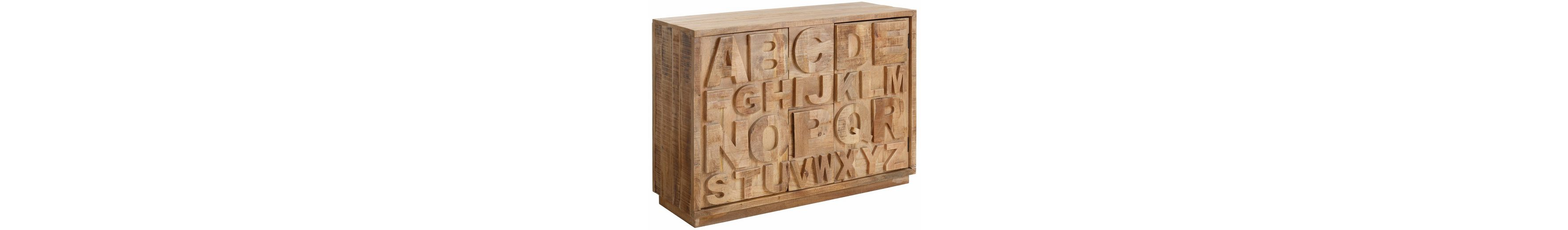 Sideboard, Home affaire, »ABC«, Breite 120 cm