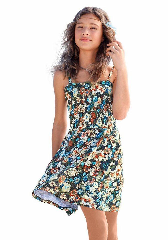 Arizona Trägerkleid mit Blumenmuster in bedruckt
