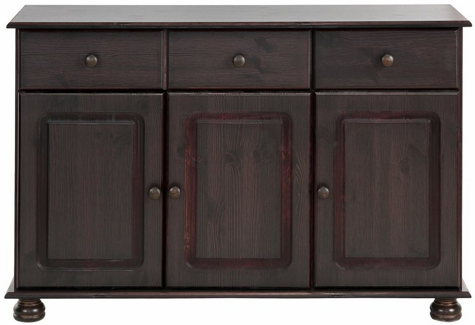 Home affaire Sideboard »Mette«, Breite 120 cm in kolonial
