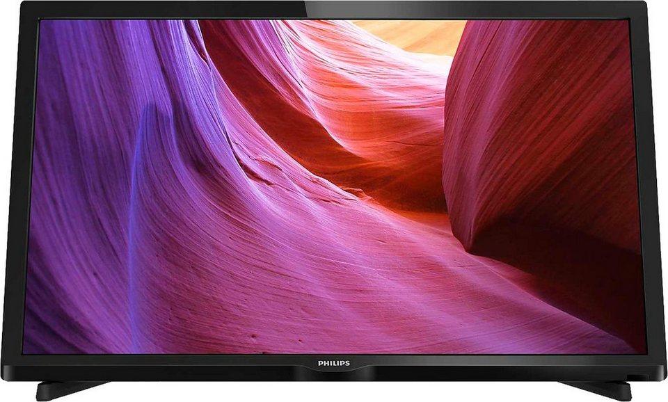Philips 24PHK4000/12, LED Fernseher, 61 cm (24 Zoll), HD Resolution in schwarz