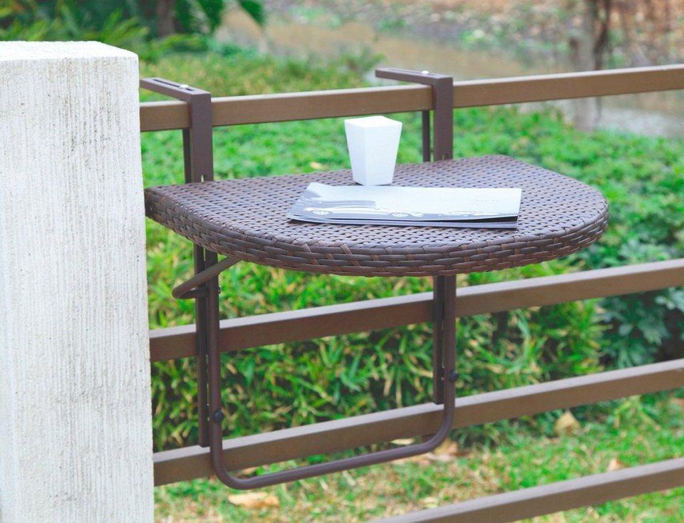 Balkonhängetisch  Balkonhängetisch »Rattan« online kaufen | OTTO