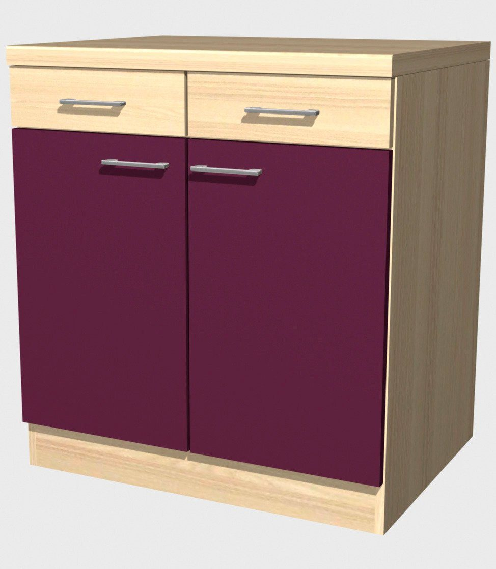 Küchenunterschrank »Portland, Breite 80 cm«