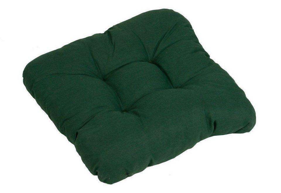 Sitzkissen (2 Stück) in grün