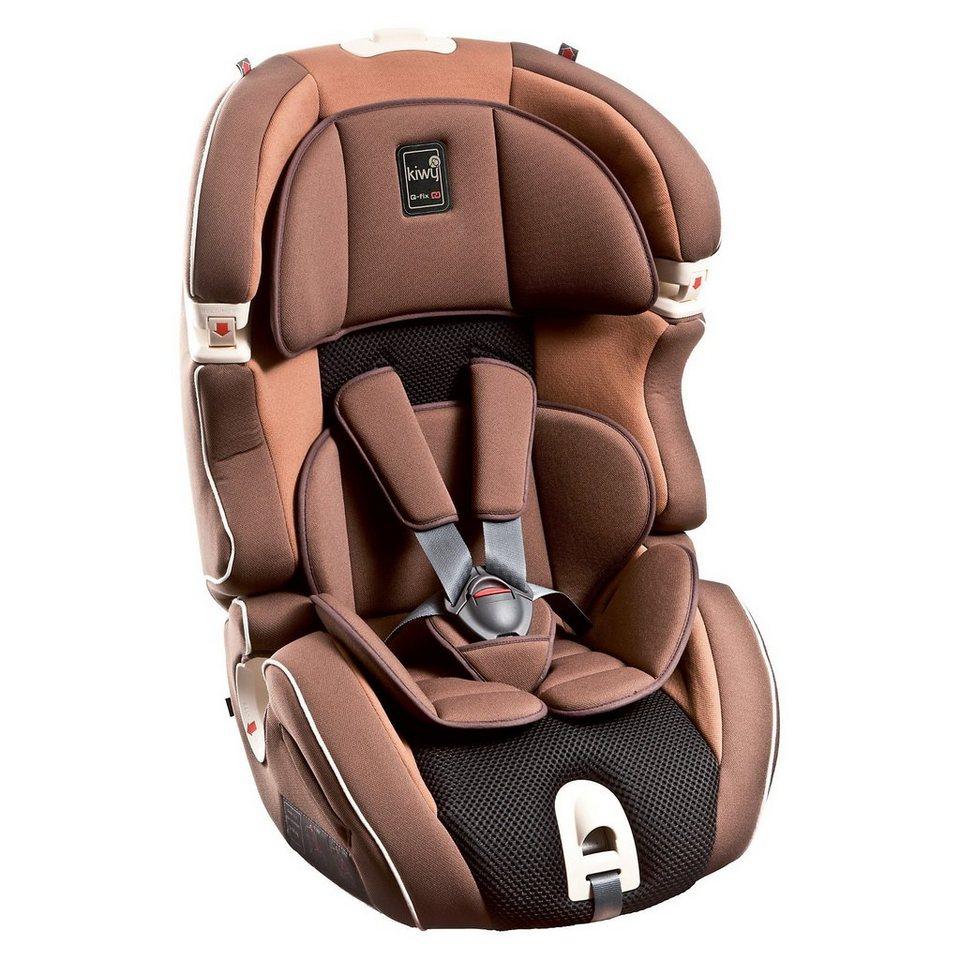 Kiwy Auto-Kindersitz SLF123 Q-Fix, Moka, 2016 in braun