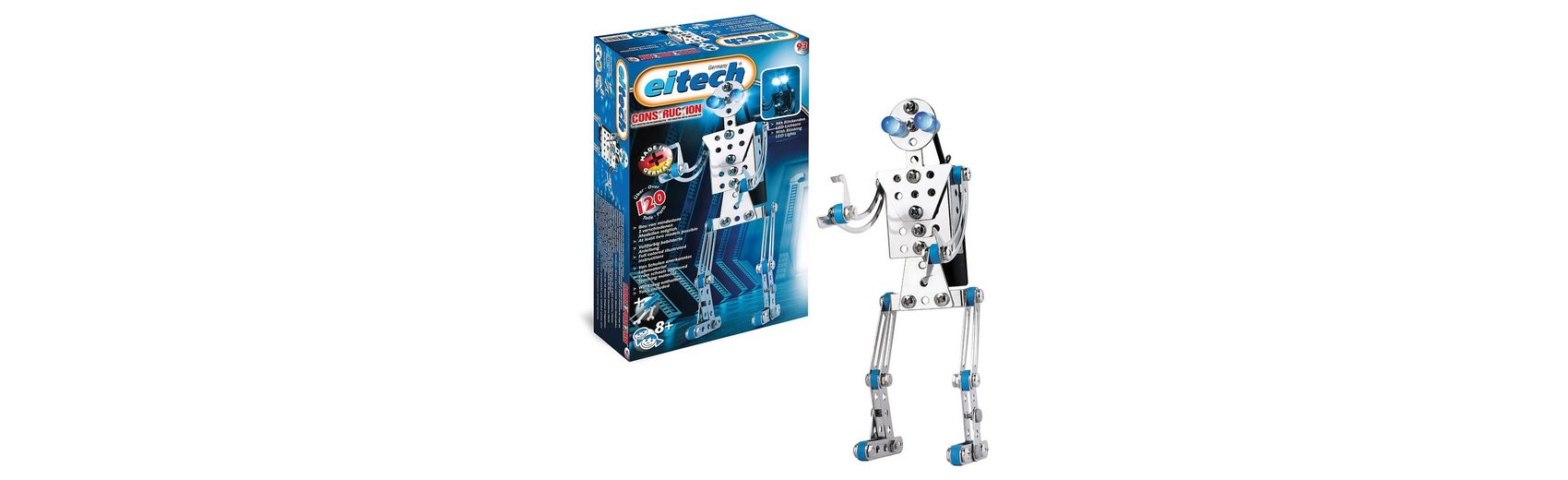 """Eitech C93 EINSTEIGER Metallbaukasten - """"Roboter"""""""