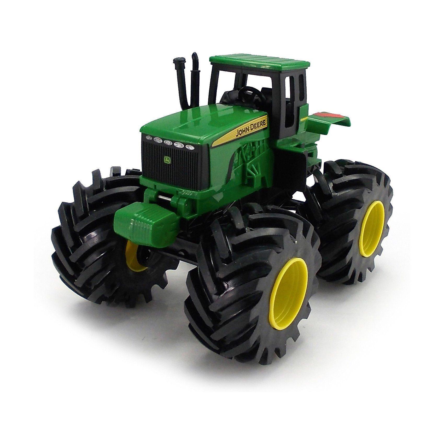 TOMY John Deere Monster Treads Traktor mit Sound und Rüttelfunkti
