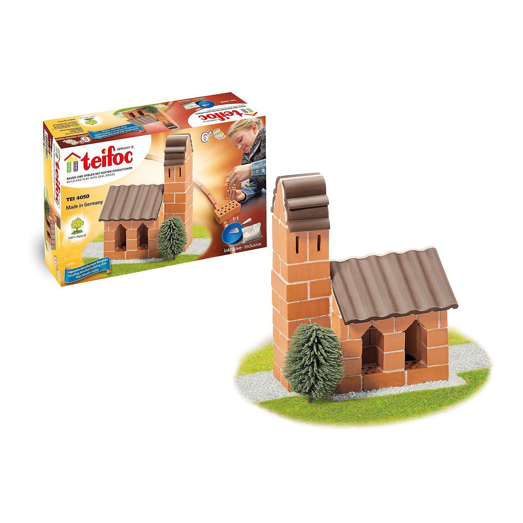 """teifoc TEI4050 Steinbaukasten - """"Kirche"""""""