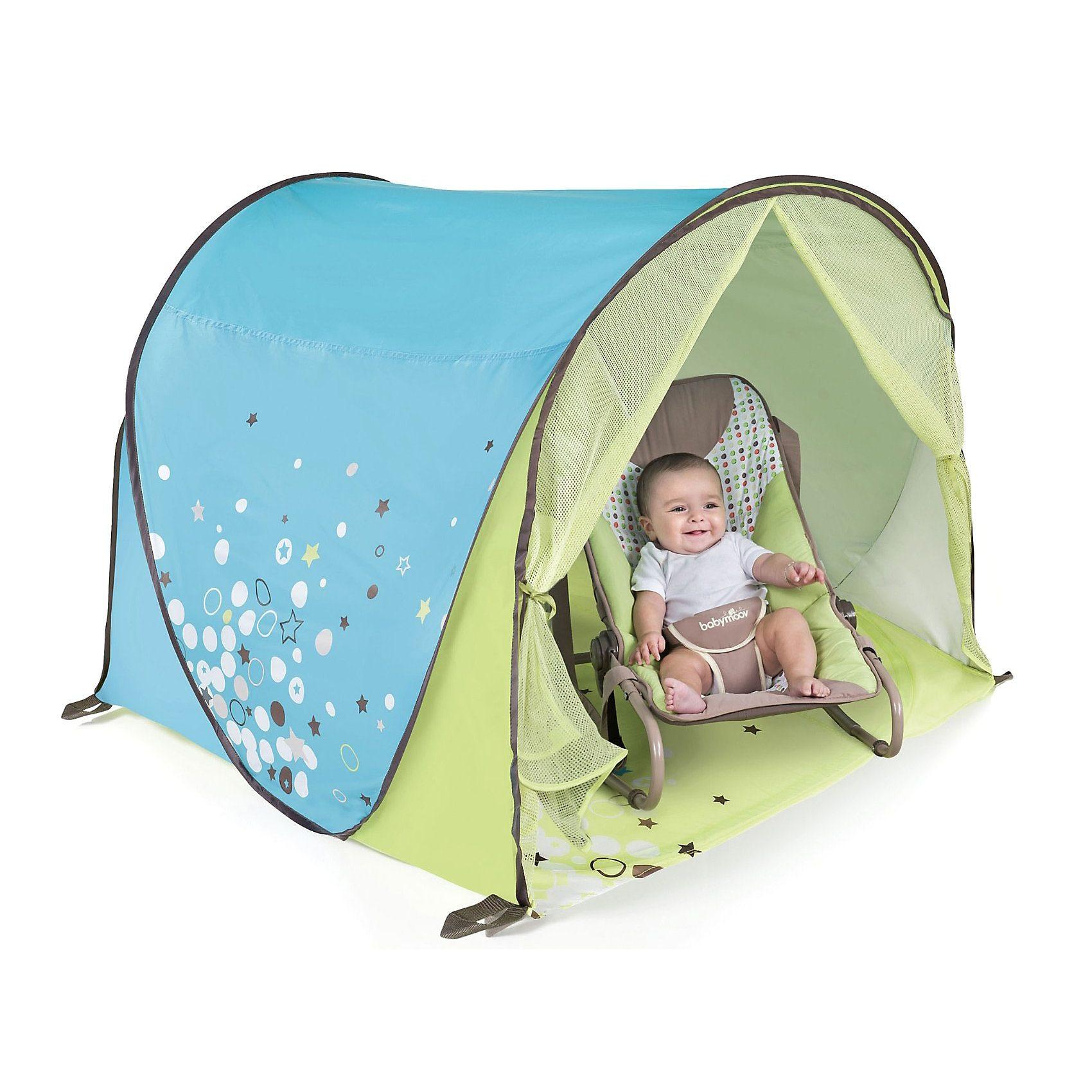 Babymoov Babyzelt mit UV-Schutz, blau/grün