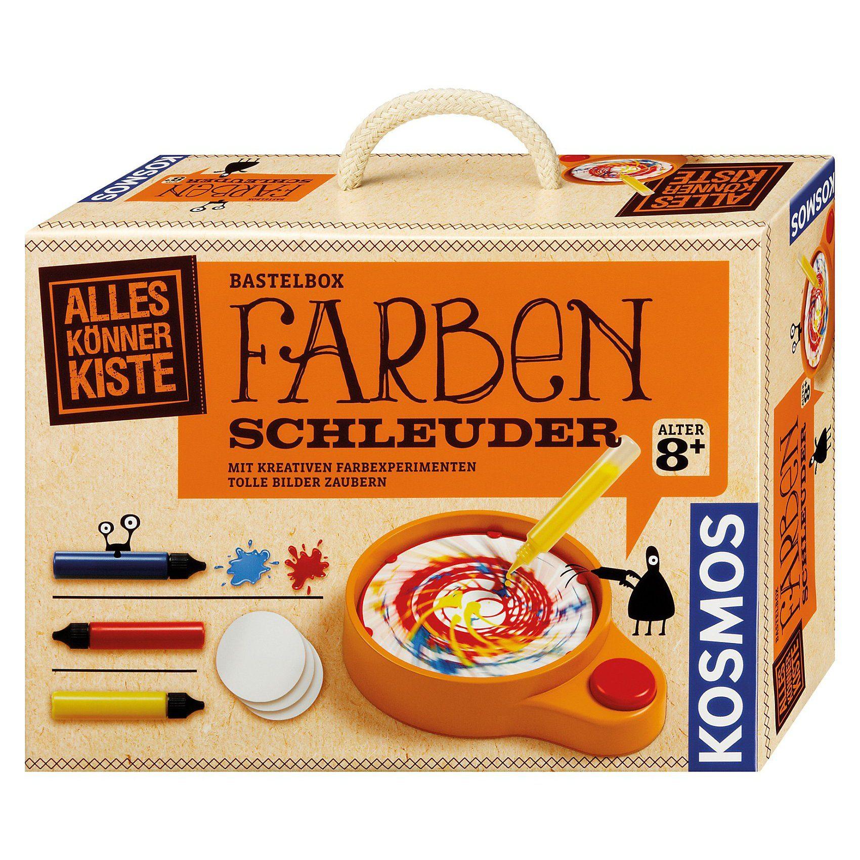 Kosmos Bastelbox Farben-Schleuder
