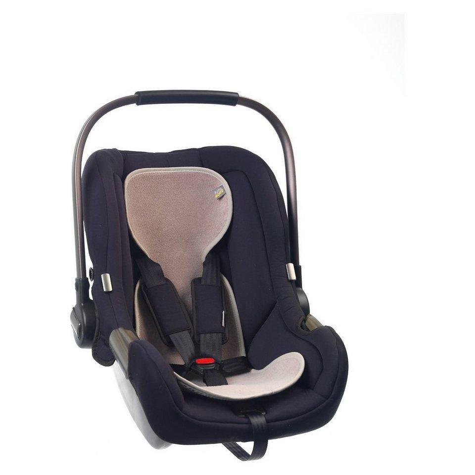 Sitzeinlage AeroMoov air layer für Babyschale, sand in grau