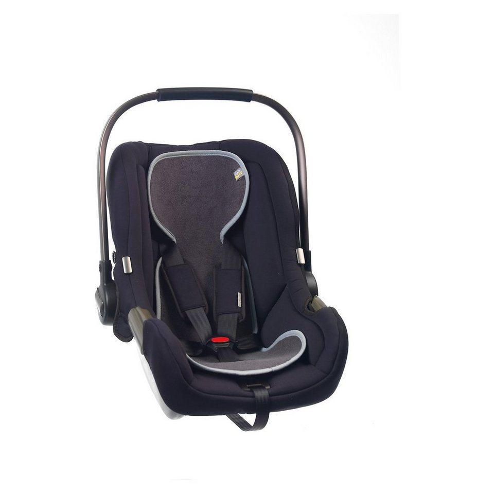 Sitzeinlage AeroMoov air layer für Babyschale, anthrazit in schwarz