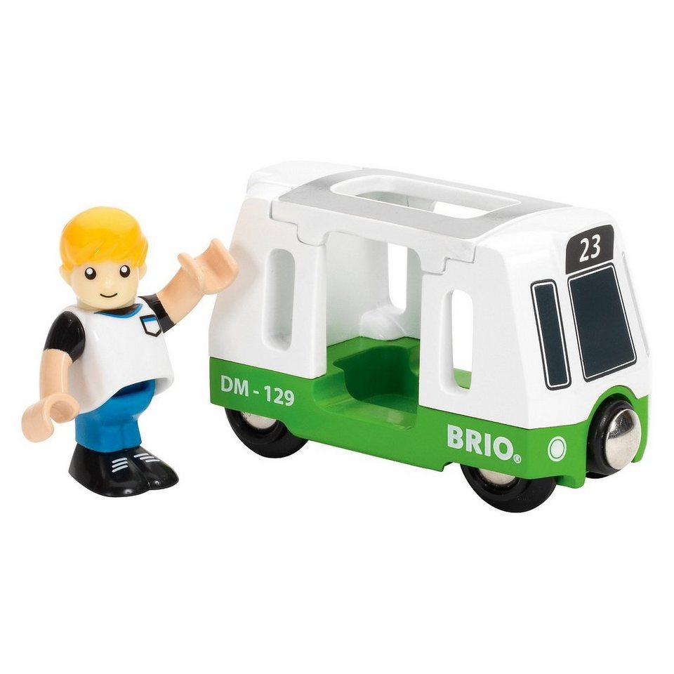 BRIO Straßenbahn-Wagen mit Figur