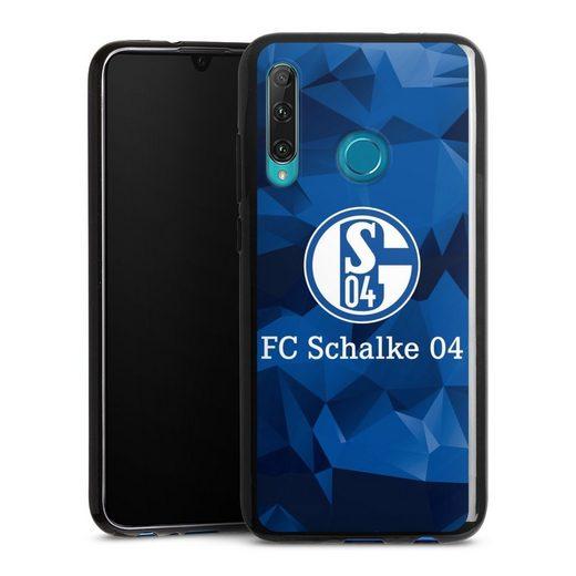 DeinDesign Handyhülle »Schalke 04 Camo« OnePlus 8, Hülle FC Schalke 04 Muster Offizielles Lizenzprodukt
