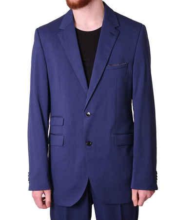 Class International Anzug »CLASS INTERNATIONAL Anzug klassischer Herren Business-Anzug 2-Knopf Verschluss Hochzeits-Anzug Blau«