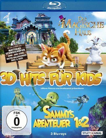 Blu-ray »3D Hits für Kids (Blu-ray 3D, 3 Discs)«