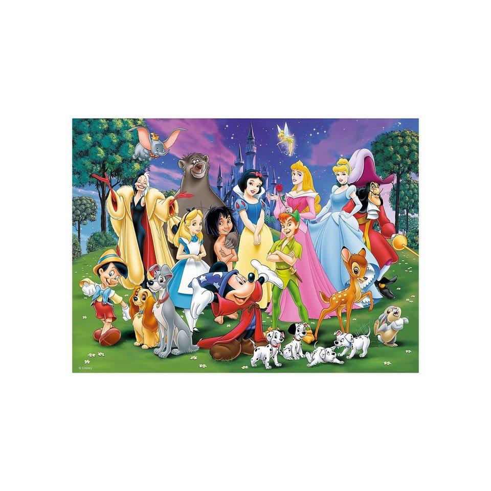 Ravensburger Disney Classics: Disney Lieblinge 200 Teile XXL