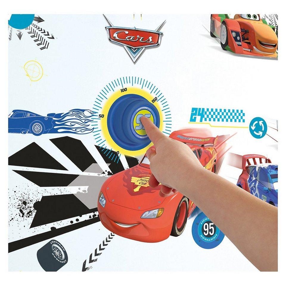 WORLDS APART Türklingel mit Wandstickern, Cars, 41-tlg.