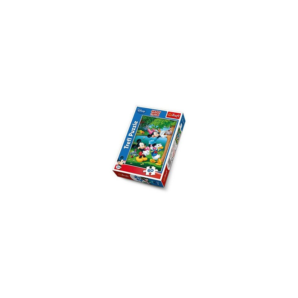 Trefl Puzzle 60 Teile - Disney Standard Charakters