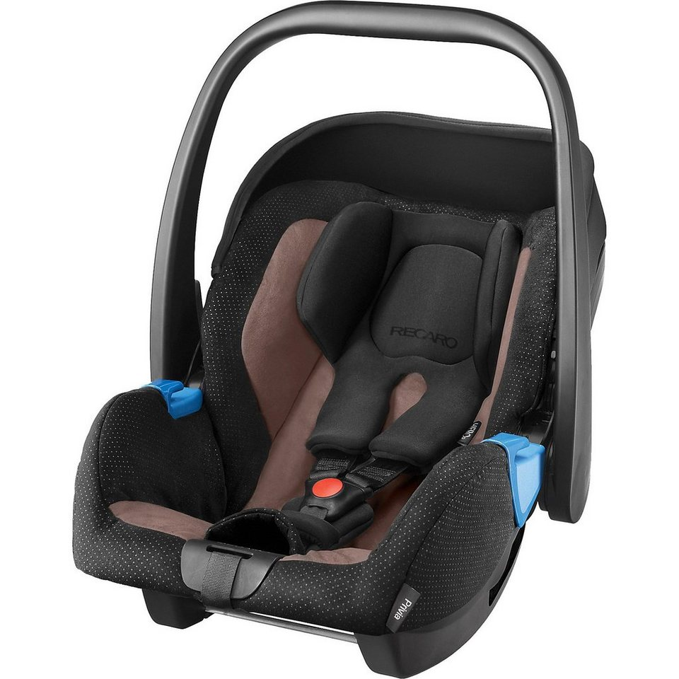RECARO Babyschale Privia, Mocca in black-brown