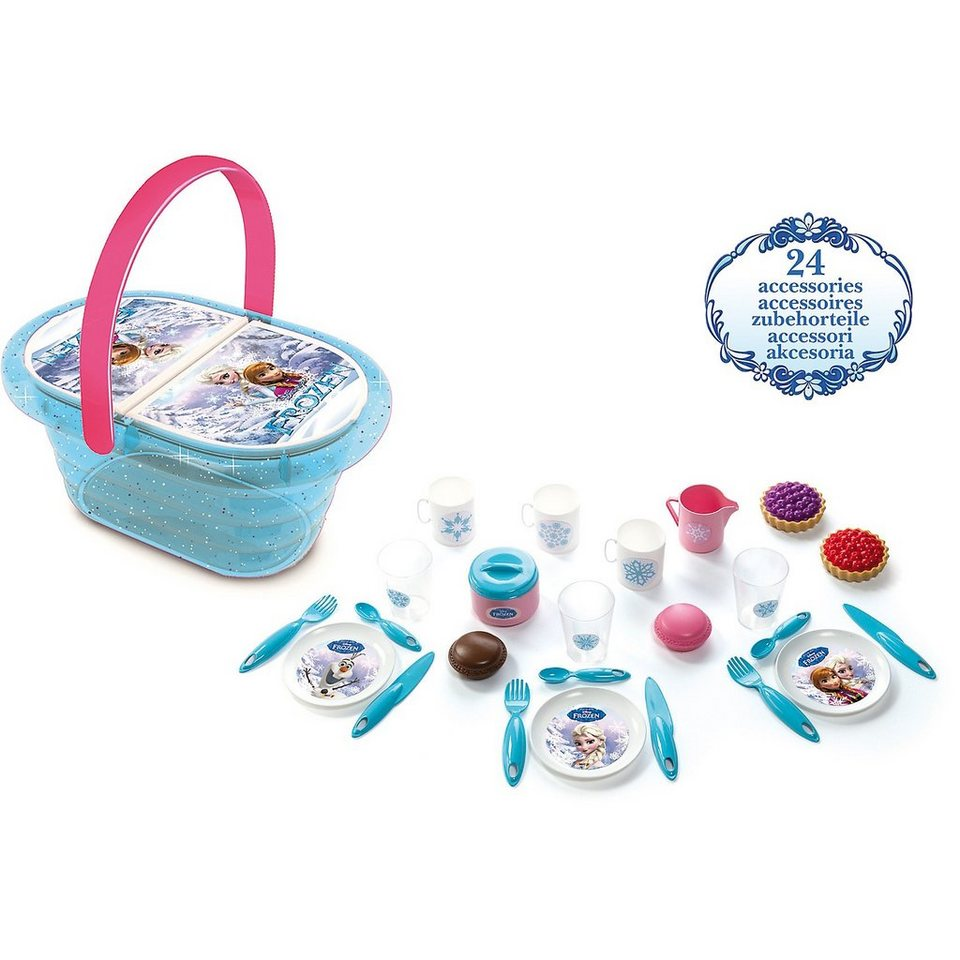 Smoby Die Eiskönigin Picknick-Korb