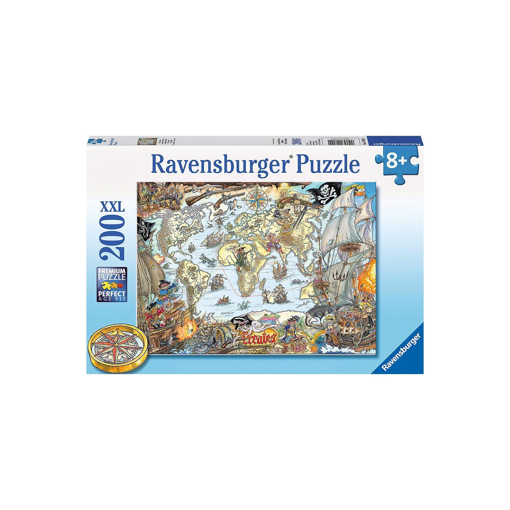Ravensburger 200 Teile XXL Piratenkarte