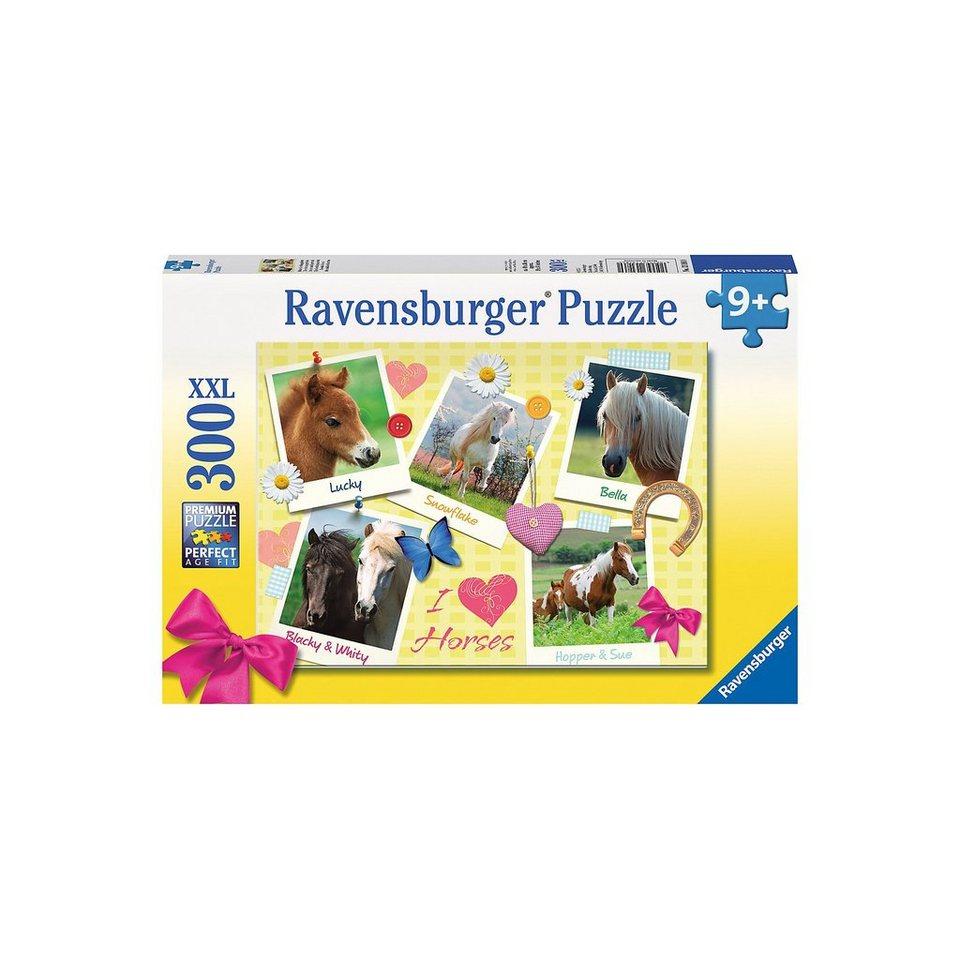 Ravensburger 300 Teile XXL Meine Lieblingspferde