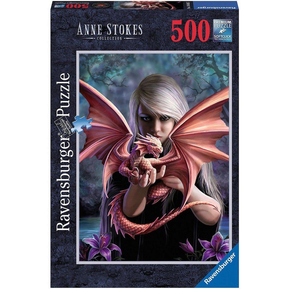 Ravensburger 500 Teile Anne Stokes: Drachenmädchen