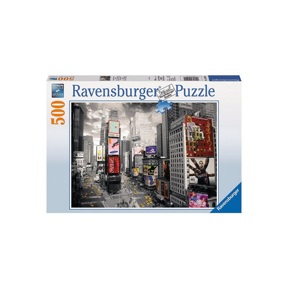 Ravensburger 500 Teile Blick auf den Times Square