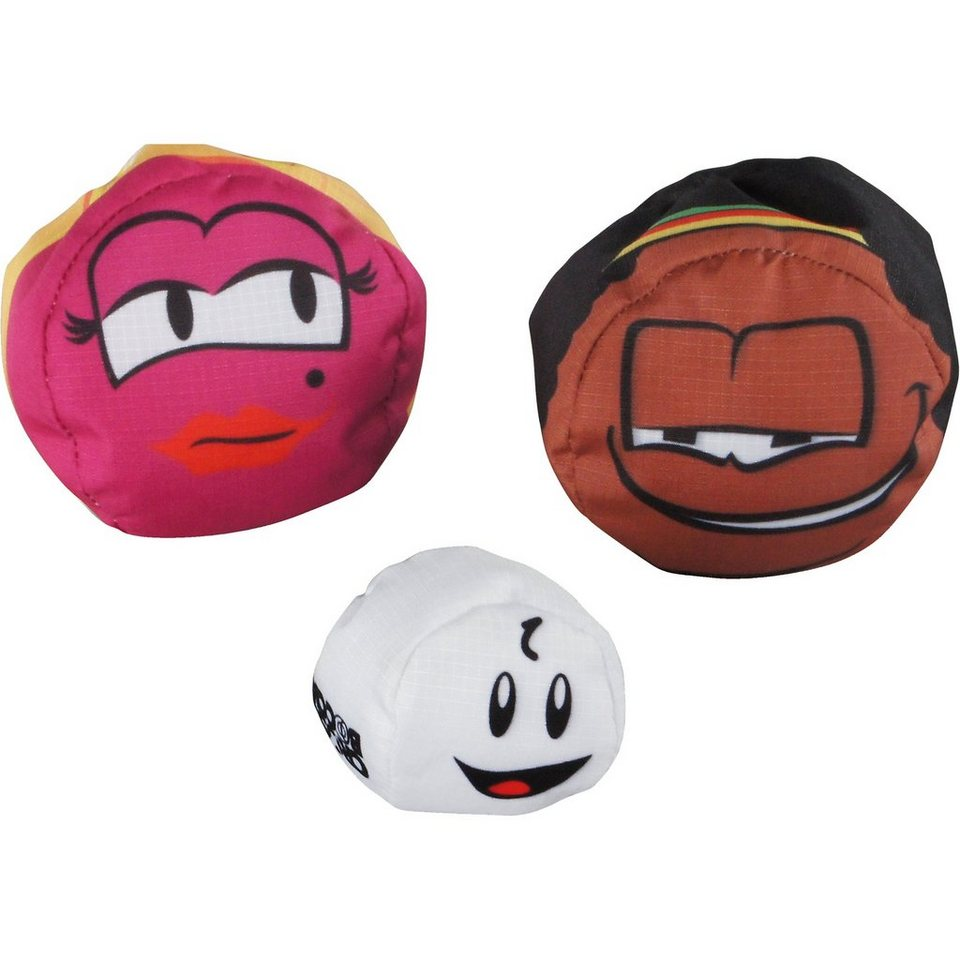 "Schildkröt Funsports Crossboccia® Doublepack Heroes Design: ""Blond & Muffin"" in bunt"