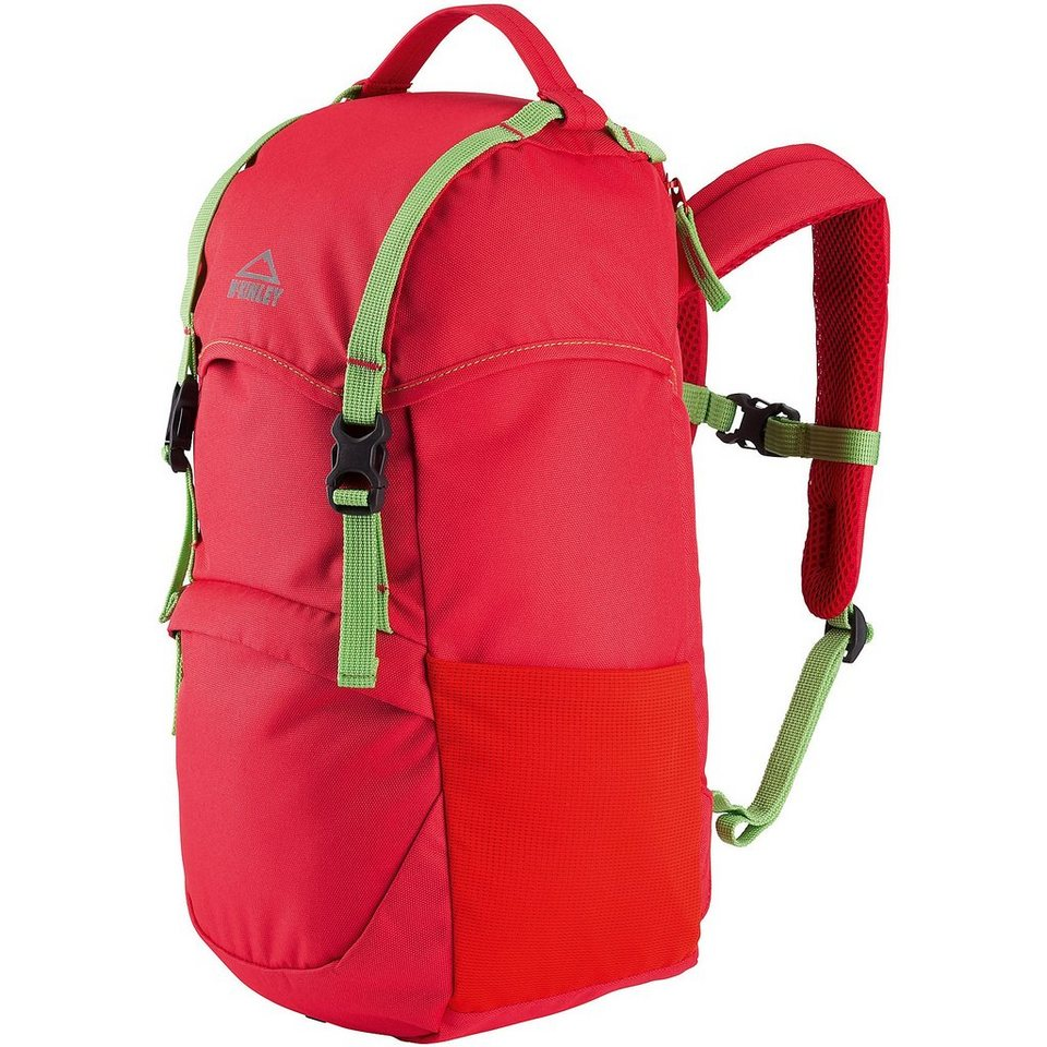 McKinley Kinder Rucksack Badger 12 in rot