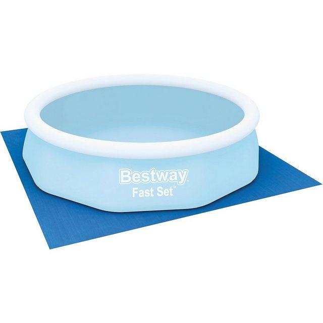 Bestway Bodenplane für Pools, 335 x 335 cm