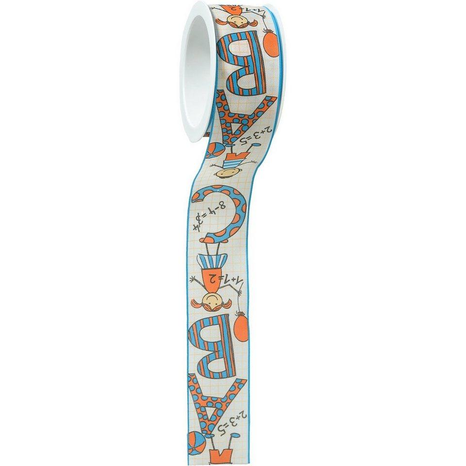 Hotex Geschenkband mit Draht Schule/Kinder, 5 m