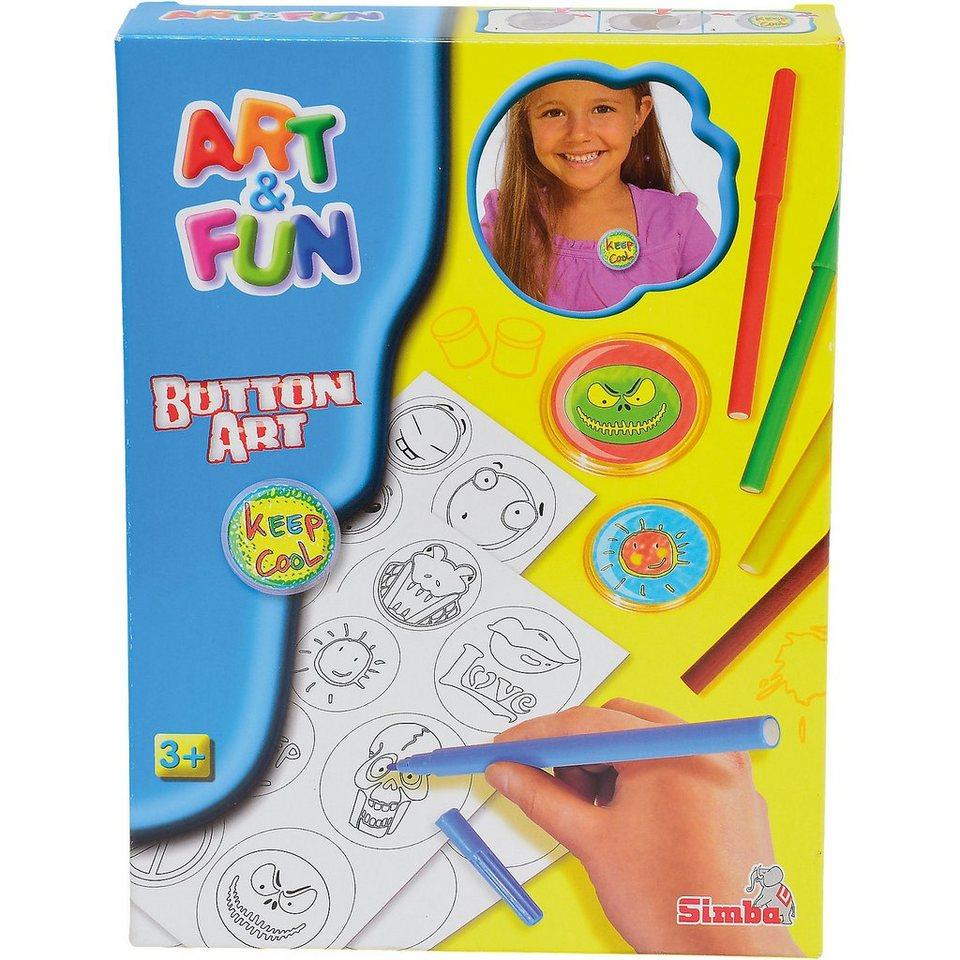 Simba Art & Fun Button Art