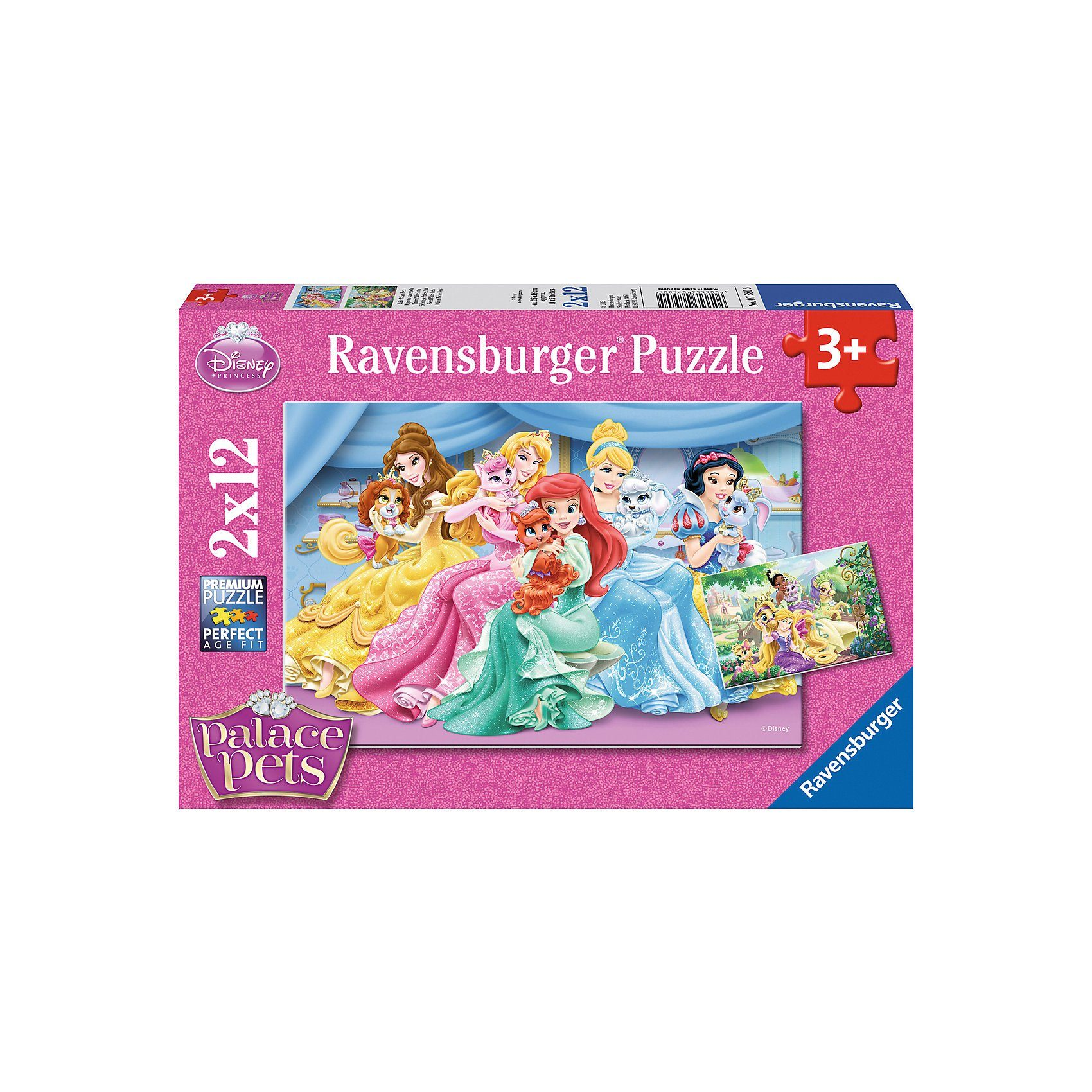 Ravensburger 2x12 Teile Disney Palace Pets Süße Palace Pets