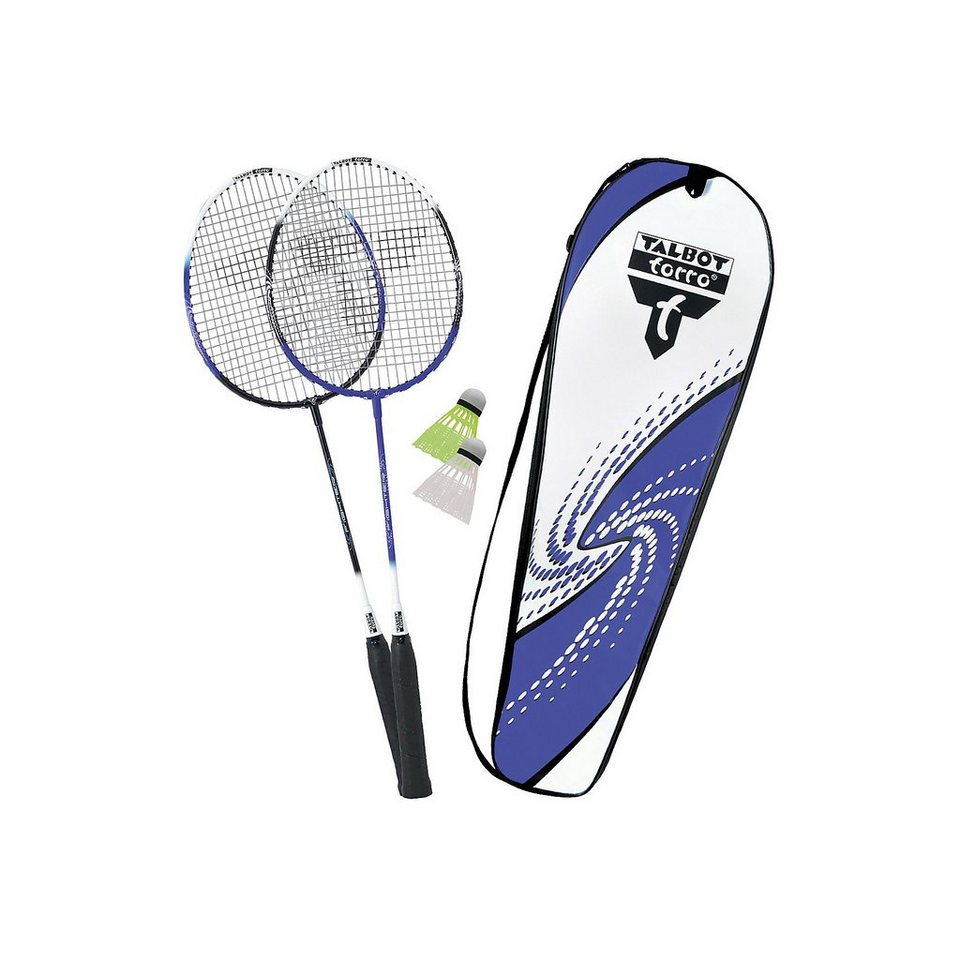 "Talbot-Torro Badminton Set ""2-Fighter"" in blau"
