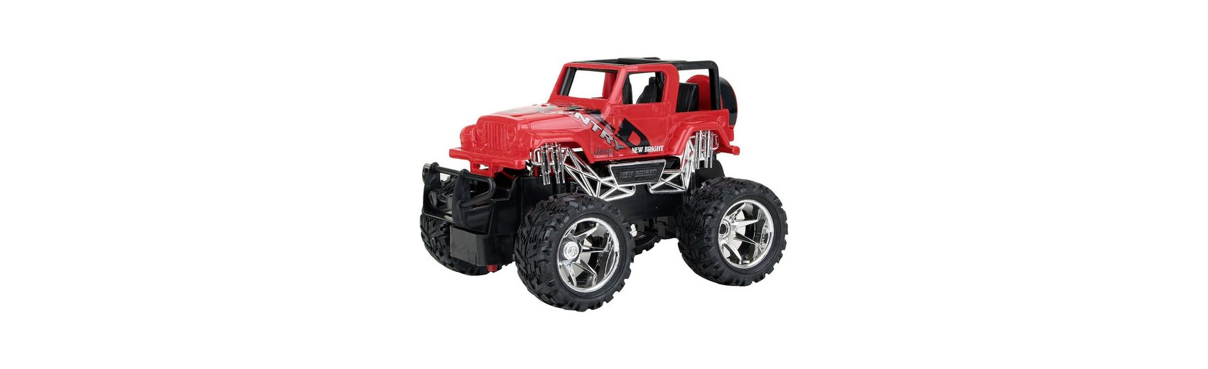 New Bright RC Jeep Offroad rot