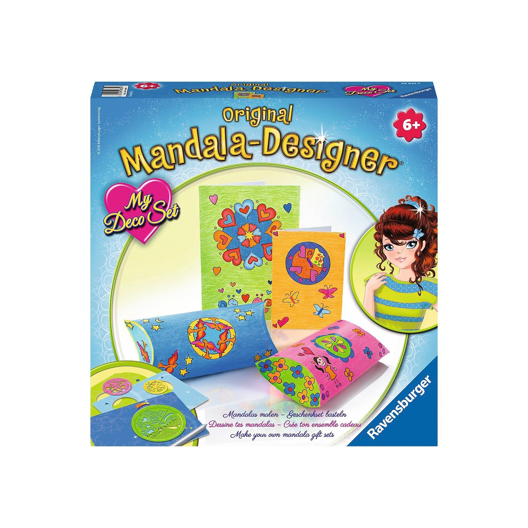 Ravensburger Mandala Designer® My Deco Set Friendship
