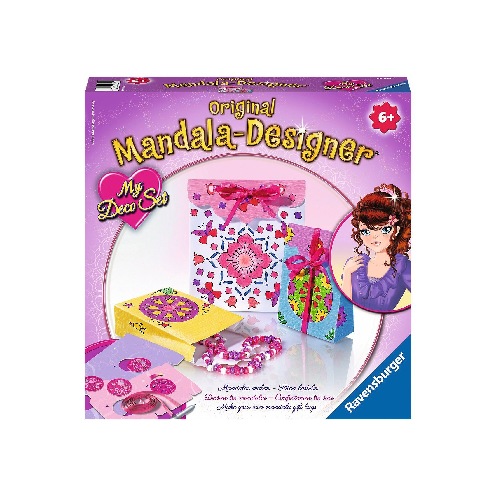 Ravensburger Mandala Designer® My Deco Set Romantic