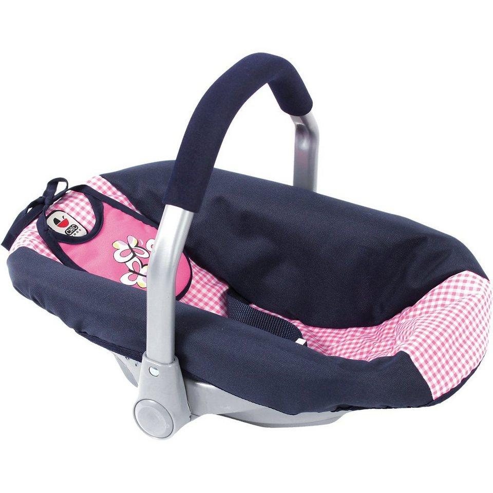 CHIC 2000 Puppen-Autositz pink
