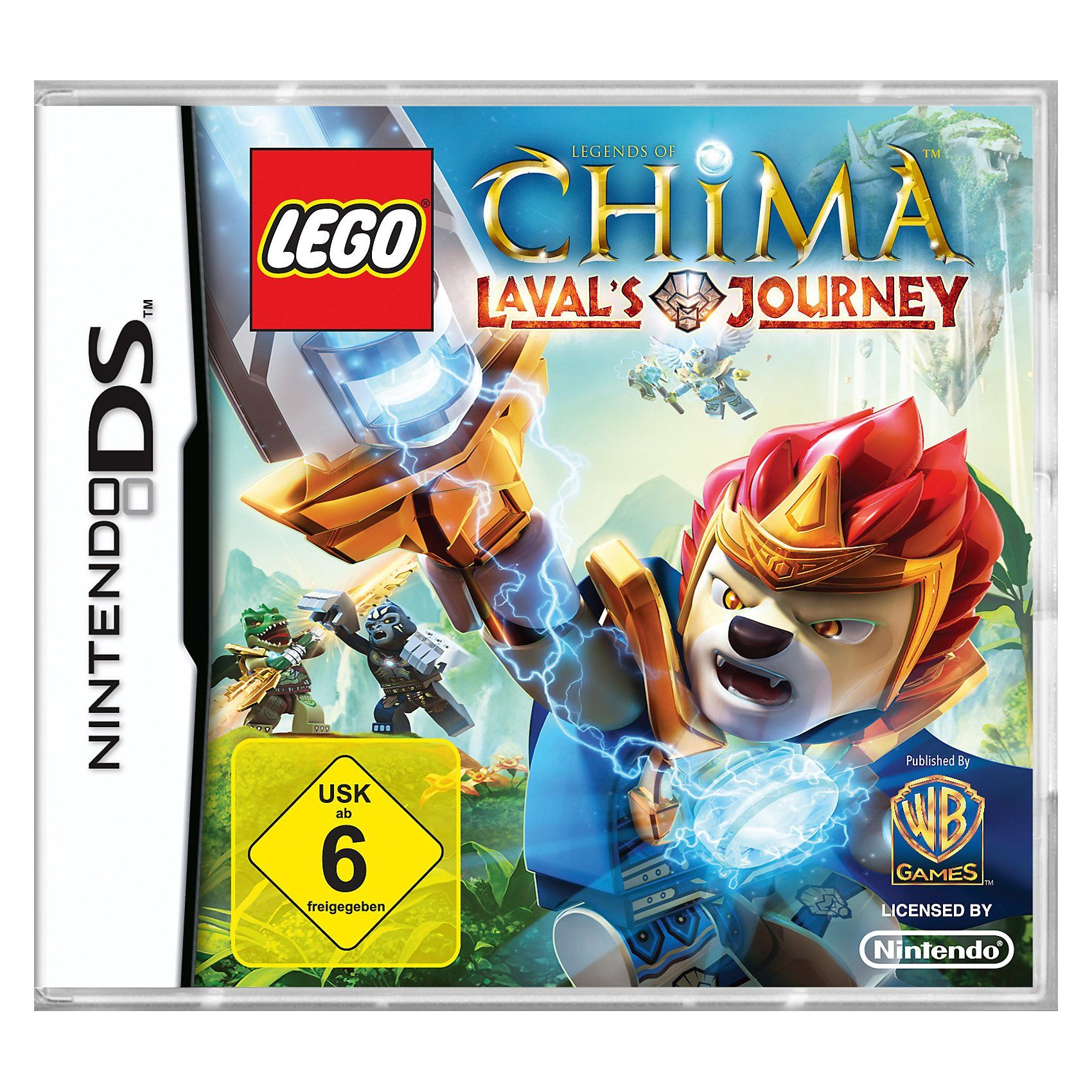 LEGO NDS Legends of Chima - Leval's Journey