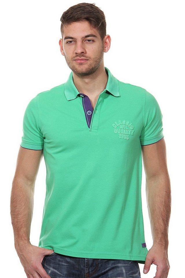 MCL Poloshirt slim fit in grün