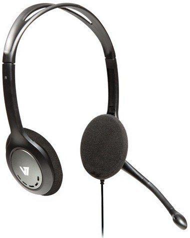 V7 Headset »HA 201Stereo Headset mit Mikrofon«