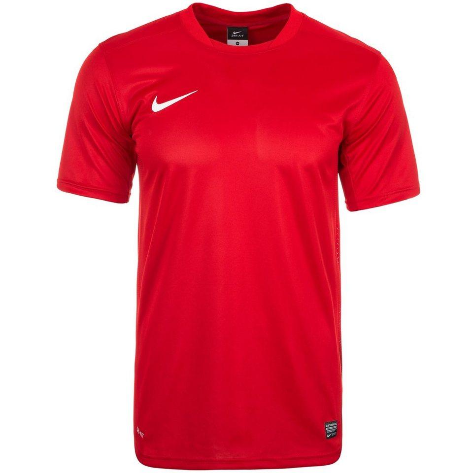 NIKE Park V Fußballtrikot Herren in rot / weiß