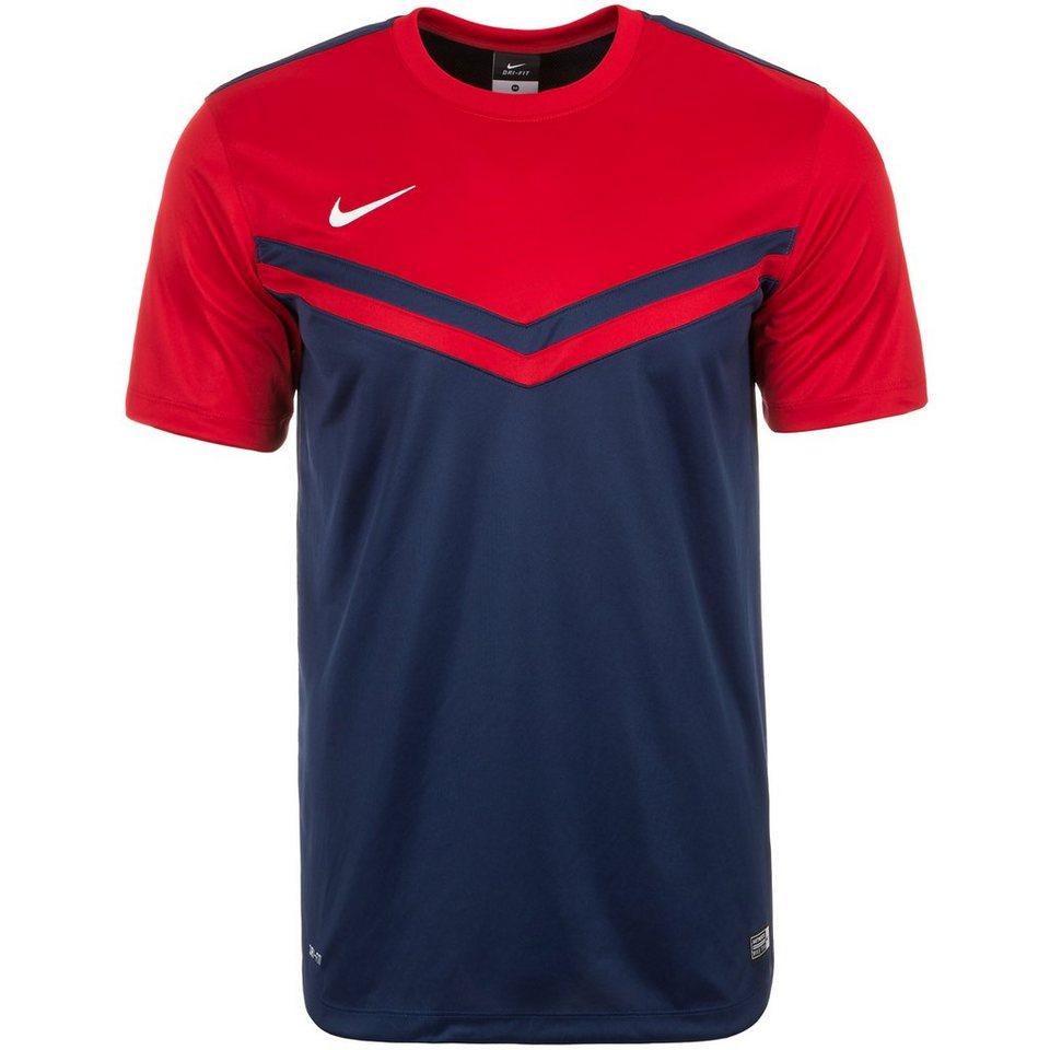 NIKE Victory II Fußballtrikot Herren in dunkelblau / rot