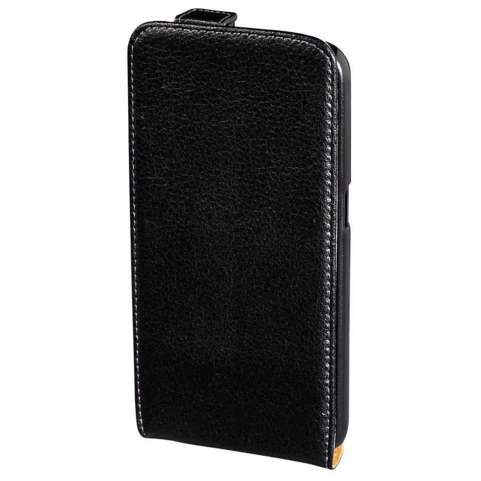 Hama Handyhülle Handytasche Hülle für Samsung Galaxy S6 »mit aufklappbarem Cover« in Schwarz