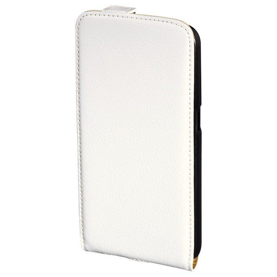 Hama Flap-Tasche Smart Case für Samsung Galaxy S6, Weiß in Weiß