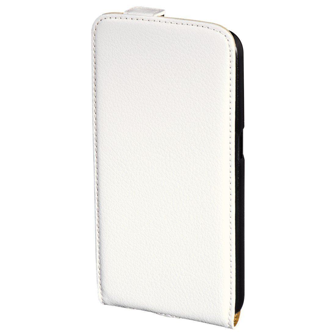 Hama Flap-Tasche Smart Case für Samsung Galaxy S6, Weiß
