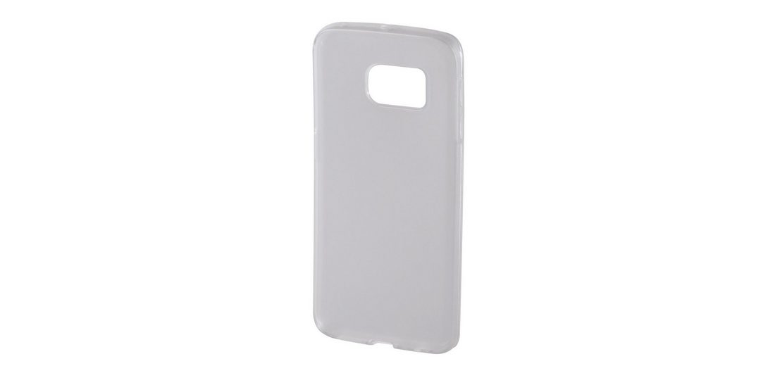 Hama Cover Crystal für Samsung Galaxy S6 Edge, Transparent